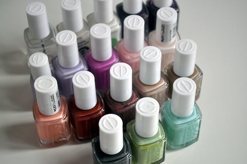 essie nail polish tag 1