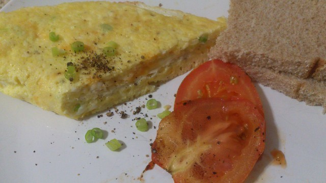 cheese souffle omelet | Flickr - Photo Sharing!