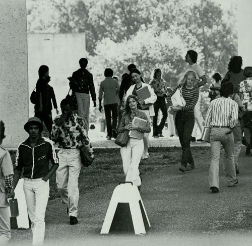 Campus life - Houstonian 1976