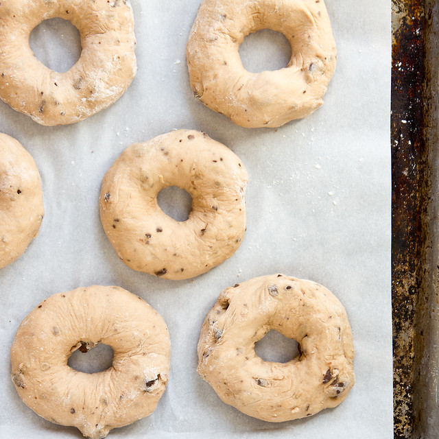 Chocolate Chunk (Chip) Bagels