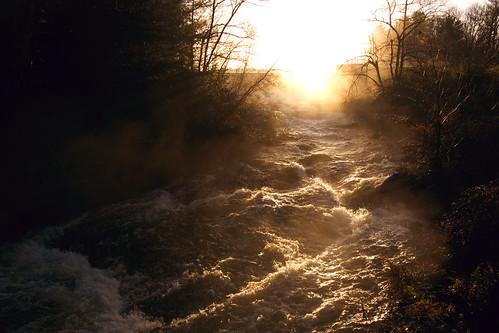 morning sunrise pennsylvania poconos monroecounty flowingwater lakenaomi poconopines uppertunkhannockcreek