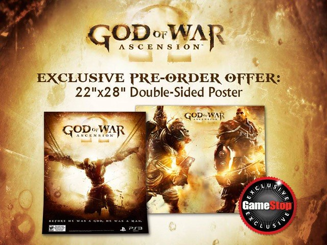 God of War: Ascension - King Leonidas Pre-order Bonus