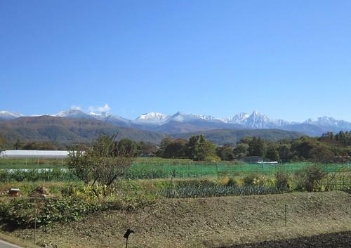 冠雪した八ヶ岳連峰 2012年10月24日11:19 by Poran111