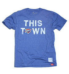 OKC Thunder This Town Shirt By Sportiqe and OAR
