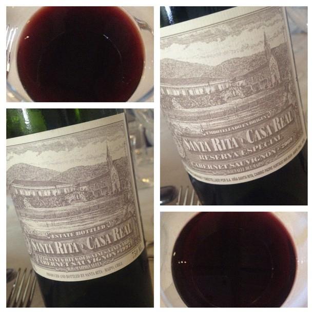 santa rita casa real chilean red wine