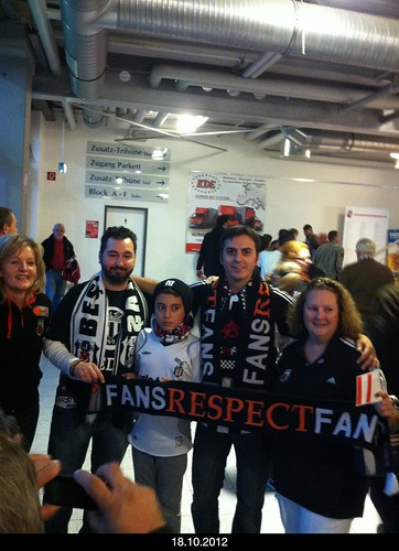 Fans respect Fans!