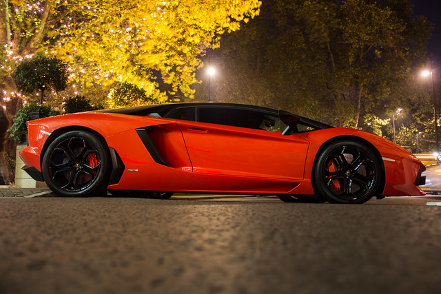 Aventador orange matte black | Flickr - Photo Sharing!
