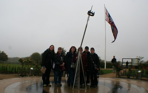 Tour Group at Bosworth Vistor Centre