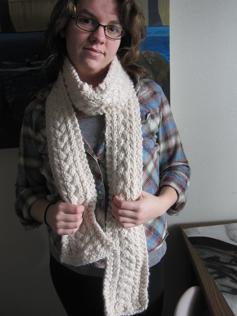 Simply Aware: Easy and Free Knitting Patterns: Wool Scarf