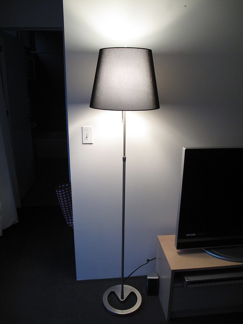 Ikea Alang Floor Lamp Nickel Plated Gray ~ SOLD IKEA NYFORS Floor lamp, nickel plated Dark Grey  $40  Flickr