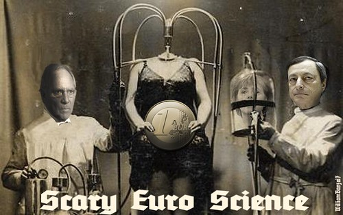 SCARY EURO SCIENCE by Colonel Flick