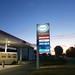 De eerste goedkope benzine
