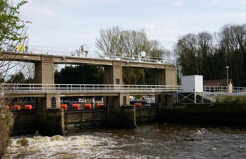 The Sluice, Allington Locks, Allington, Kent