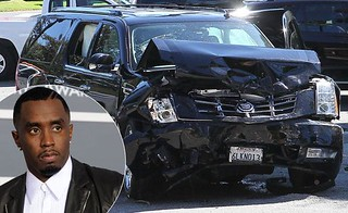 diddy car crash pictures.  Sean Diddy Combs is being treated for injuries he sustained after his Cadillac Escalade crashed into another vehicle Wednesday in Los Angeles