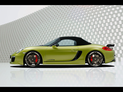 2013 speedART Porsche Boxster SP81-R Pictures   SP81-R is based