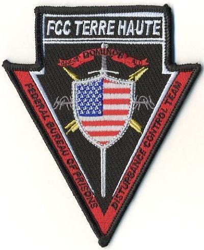 Federal bureau of prisons fcc terre haute disturbance for Bureau of prisons