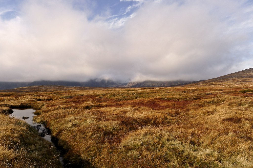 Clouds over the Cairngorms