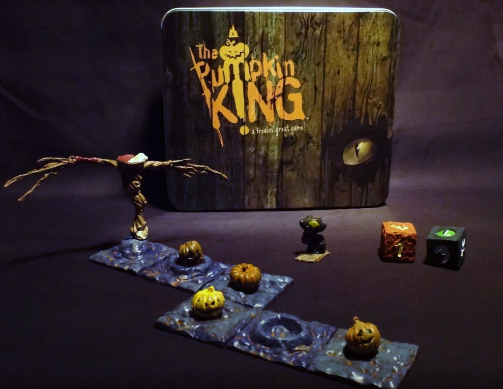 Pumpkin King Halloween board game