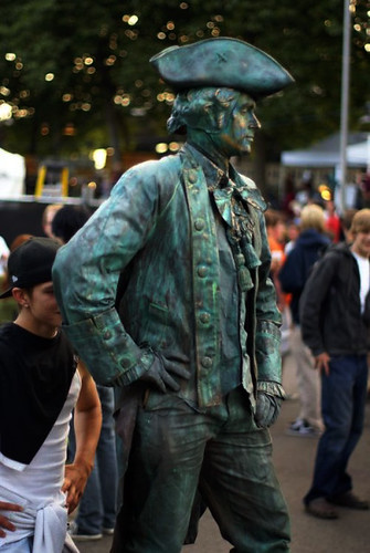 Napoleon Living Statue by Eva Rinaldi Celebrity and Live Music Photographer