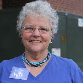 Susan committed to vote and then followed through with her commitment by Voting Early.