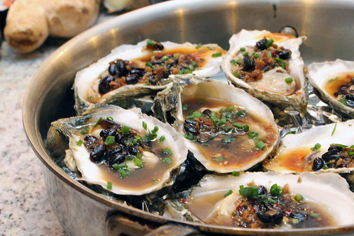 Baked beef oysters