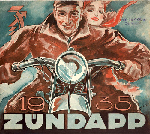 1935 Zundapp ecstacy by bullittmcqueen