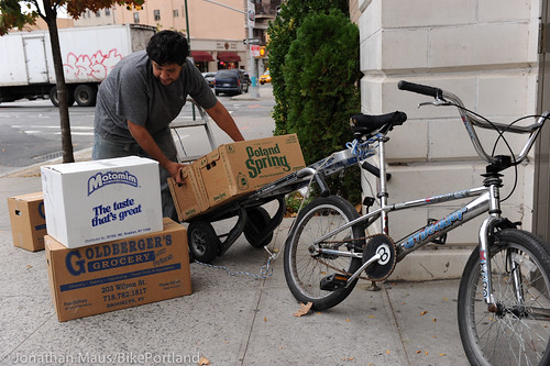 New York City's bicycle delivery men - BikePortland org