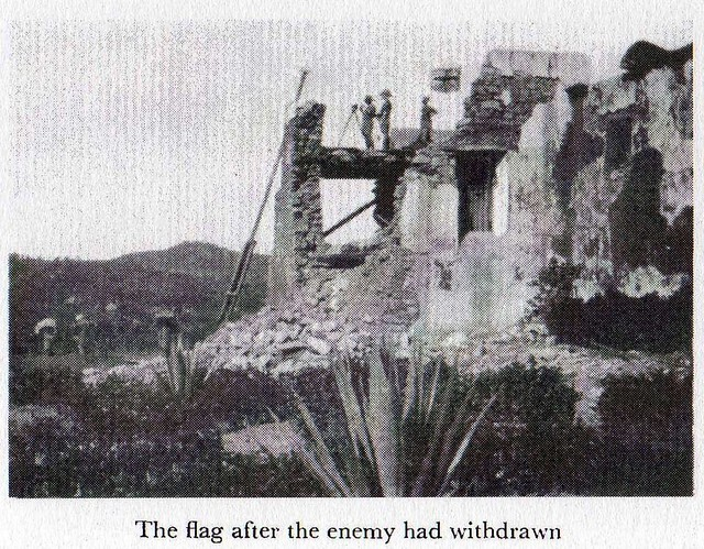 Kibata Fort after the fighting