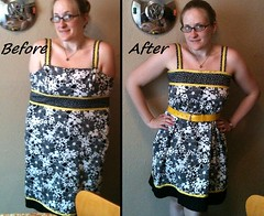 Floral Dress Before & After