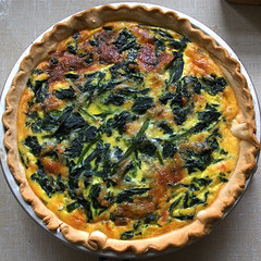 pie, vegetable, baked goods, zwiebelkuchen, produce, tart, food, dish, dessert, cuisine, quiche,
