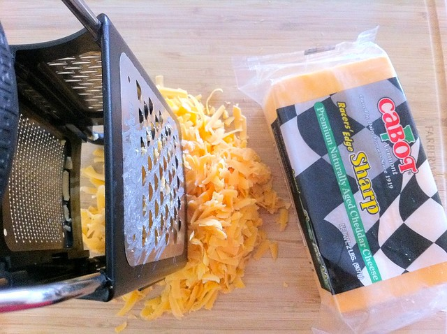 8 oz Grated Cheddar Cheese