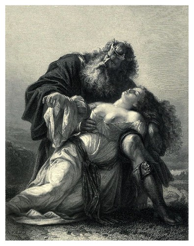 006-El rey Lear-Shakespeare scenes and characters…1876