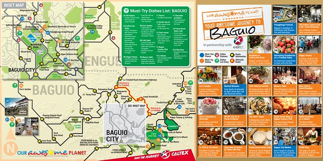 Awesome Journey to Baguio Infographics