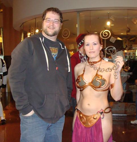 Mike & Slave Leia