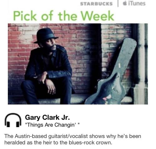 Starbucks iTunes Pick of Week