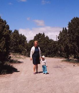 Nevada   -   Jessica & my mother   -   June 1975