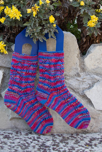 Finished: Summer Rainbow Lovin' socks