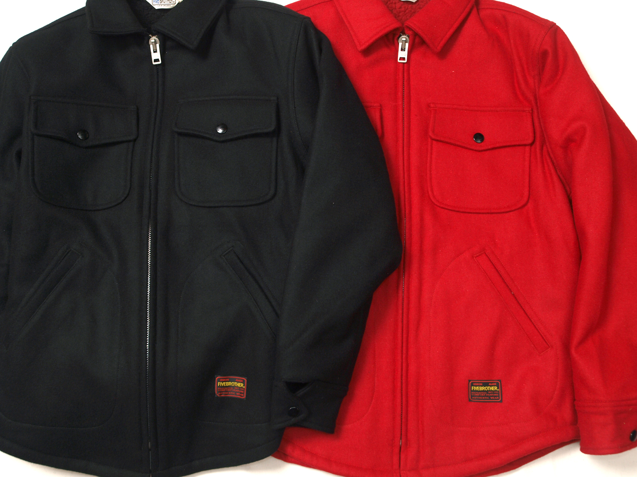 Five Brother / Zip CPO Jacket