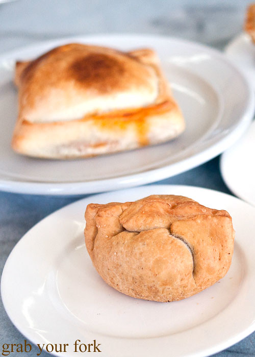 cheese and spinach empanada at sugarloaf patisserie kogarah