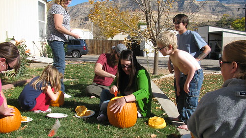Colorado Pumpkin Carving - what is that stuff inside!