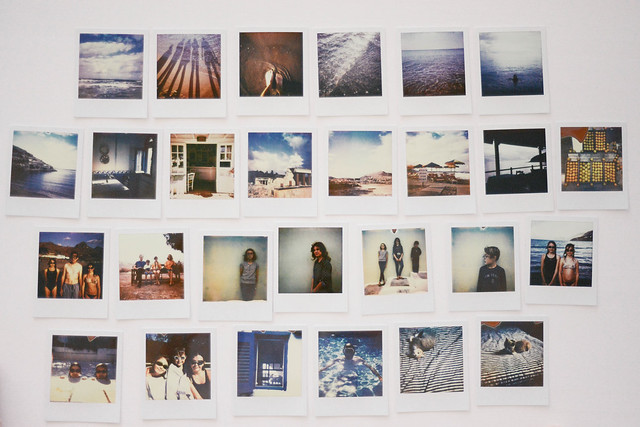 Crete in Polaroids