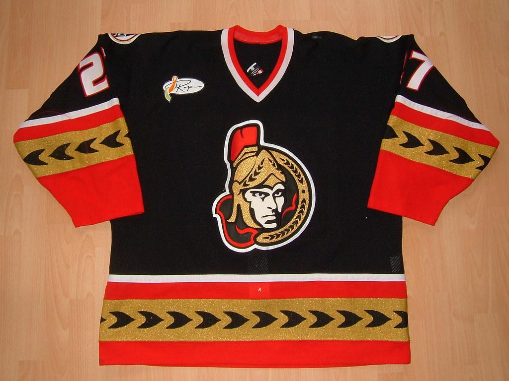 classic fit 5d9e7 50da8 Ottawa Senators 2003 - 2004 alternate Game Worn Jersey | Flickr