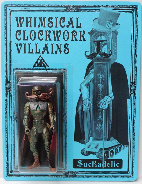 Whimsical Clockwork Villains by Doktor A. x Suckadelic Edition of 50 $100 each