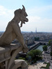 Picture of a gargoyle in Paris