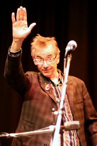 John Hegley at the Folkestone Book Festival 2nd November 2012