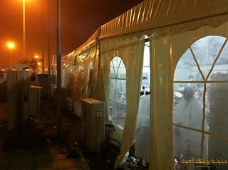 خيمة الرجال بعرفات