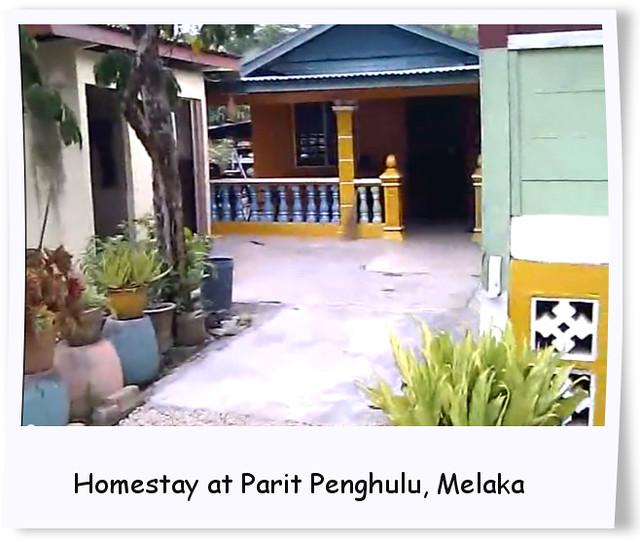 Homestay at Parit Penghulu, Melaka