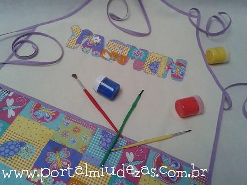 Pra fazer artes: avental personalizado by miudezas_miudezas