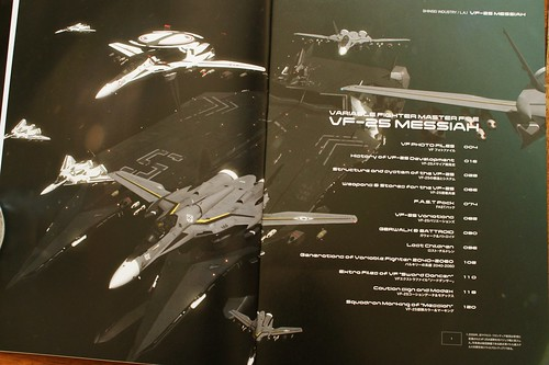 Variable Fighter Master File - VF-25 MESSIAH - 6