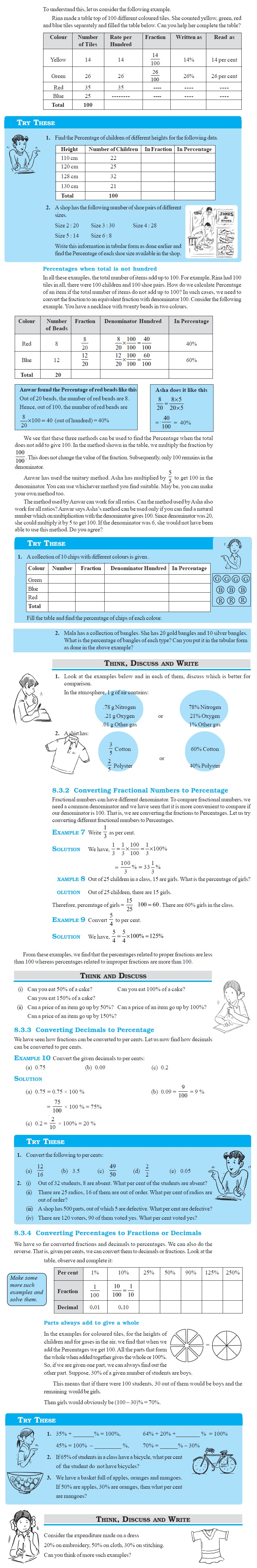 NCERT Class VII Maths Chapter 8 Comparing Quantities